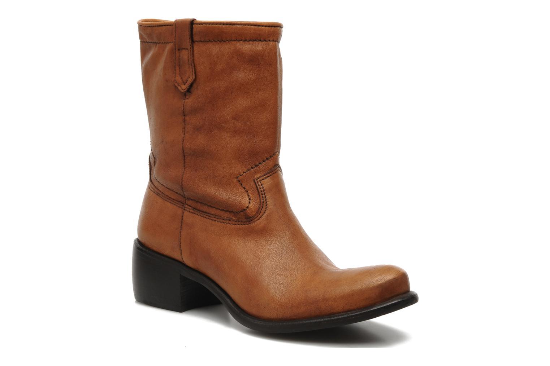 Boots en enkellaarsjes Muratti Maddalena Bruin detail
