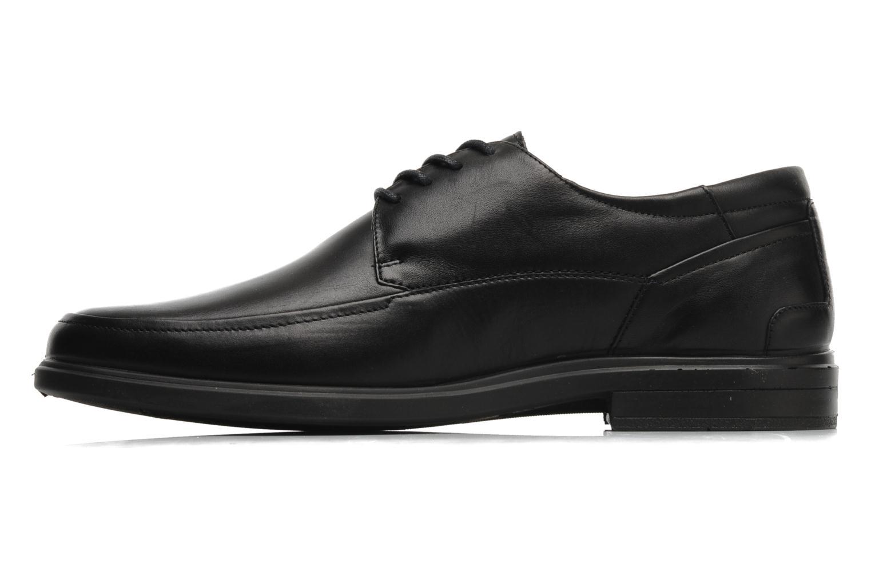 Zapatos con cordones Sledgers Joke Negro vista de frente
