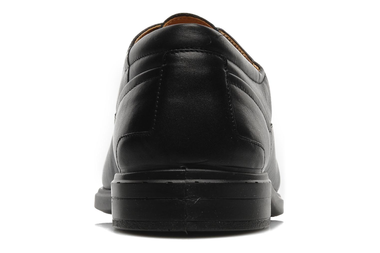 Zapatos con cordones Sledgers Joke Negro vista lateral derecha