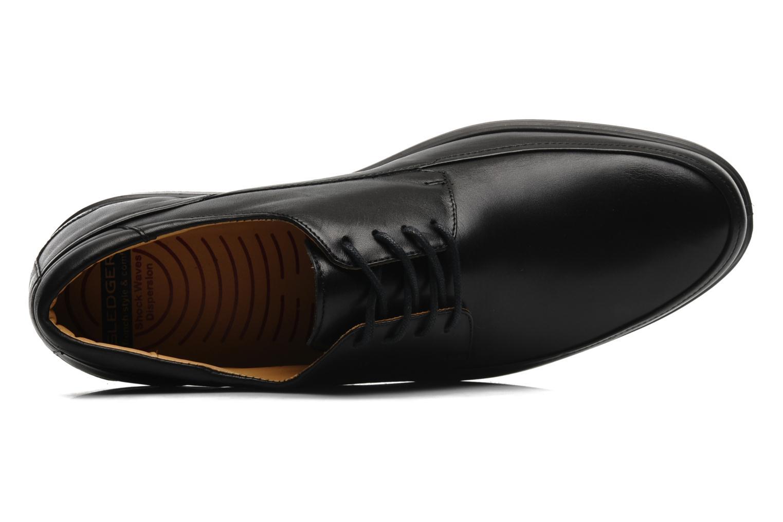Zapatos con cordones Sledgers Joke Negro vista lateral izquierda