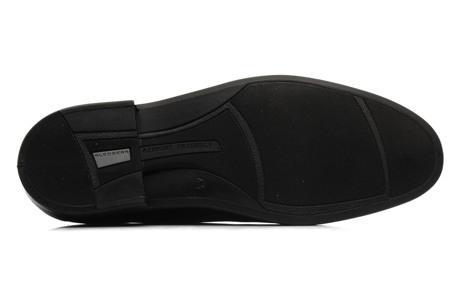 Lace-up shoes Sledgers Joke Black view from above