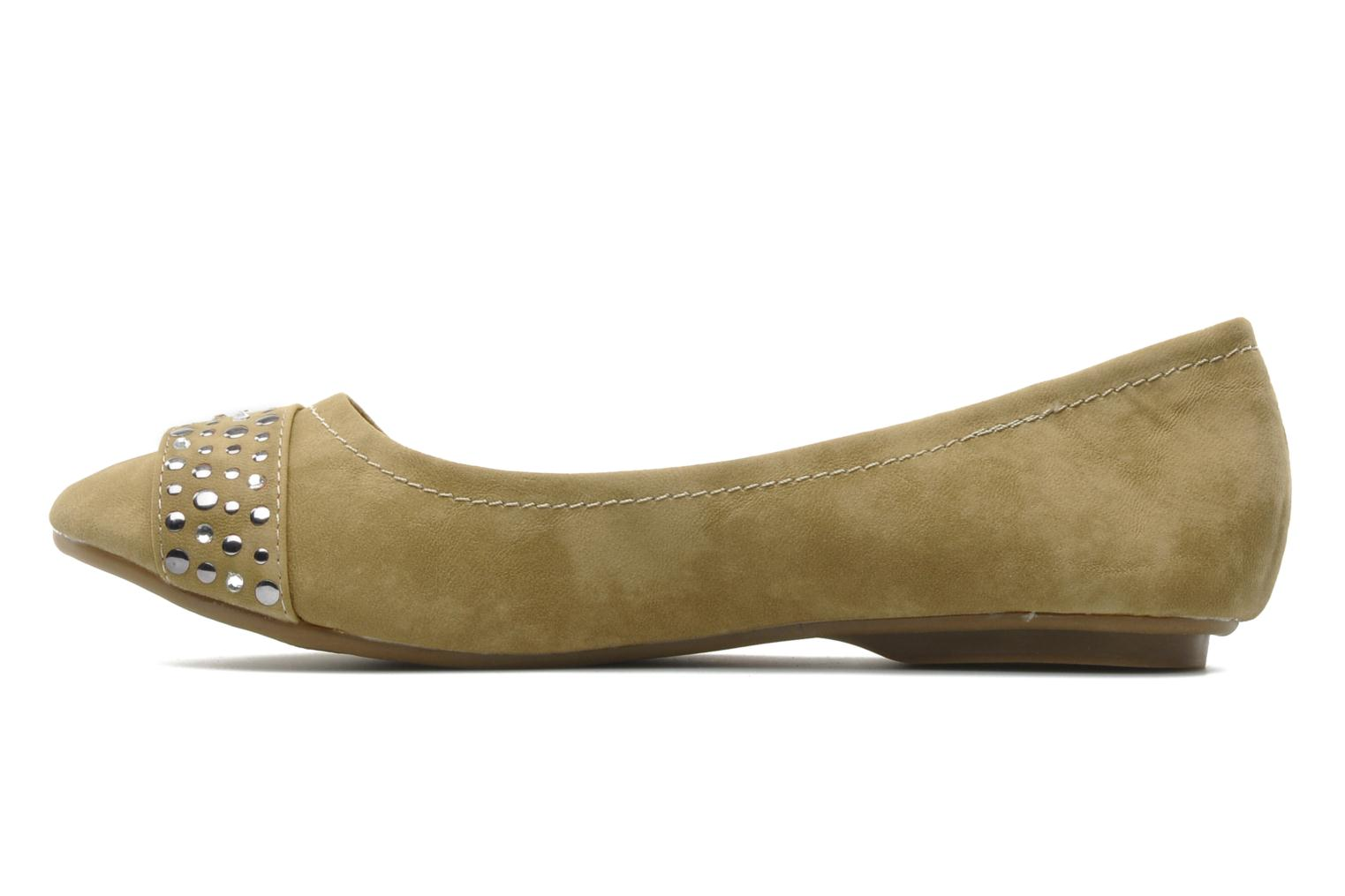 Ballet pumps Refresh Valencina Beige front view