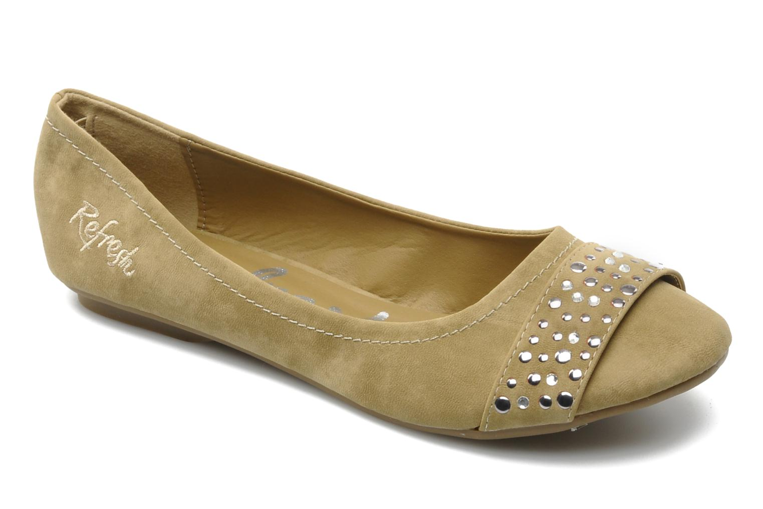 Ballet pumps Refresh Valencina Beige detailed view/ Pair view
