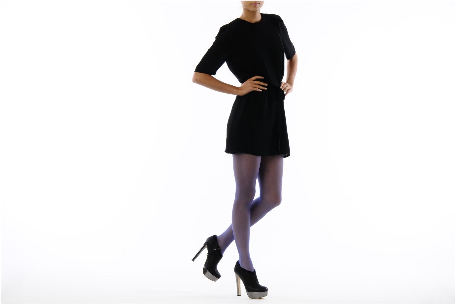 Ankle boots De Siena shoes Amalia Black view from underneath / model view
