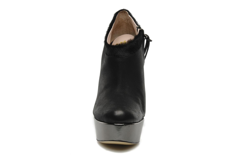 Bottines et boots De Siena shoes Amalia Noir vue portées chaussures