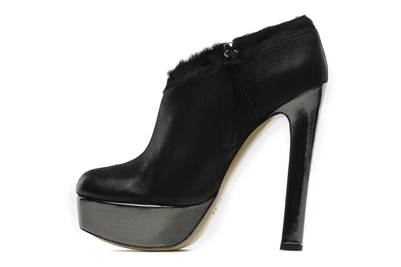 Boots De Siena shoes Amalia Svart bild från framsidan