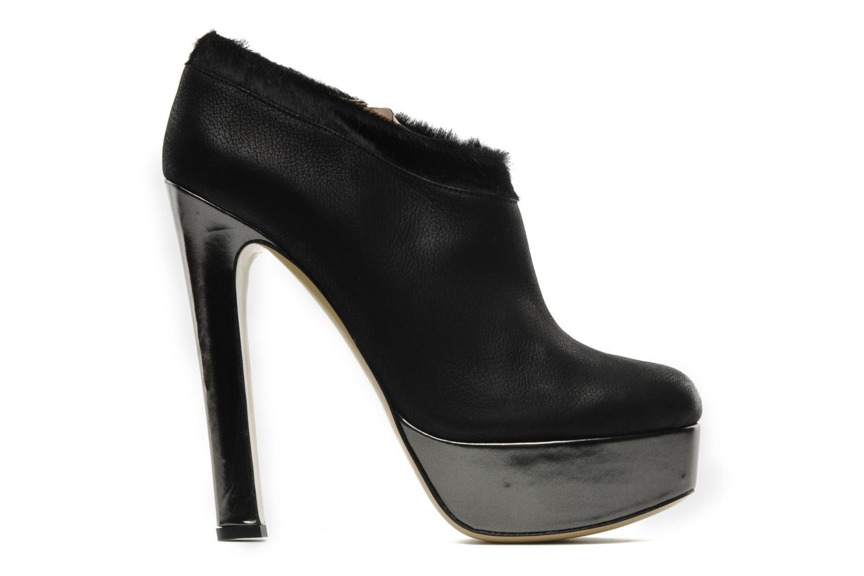 Boots De Siena shoes Amalia Svart bild från baksidan