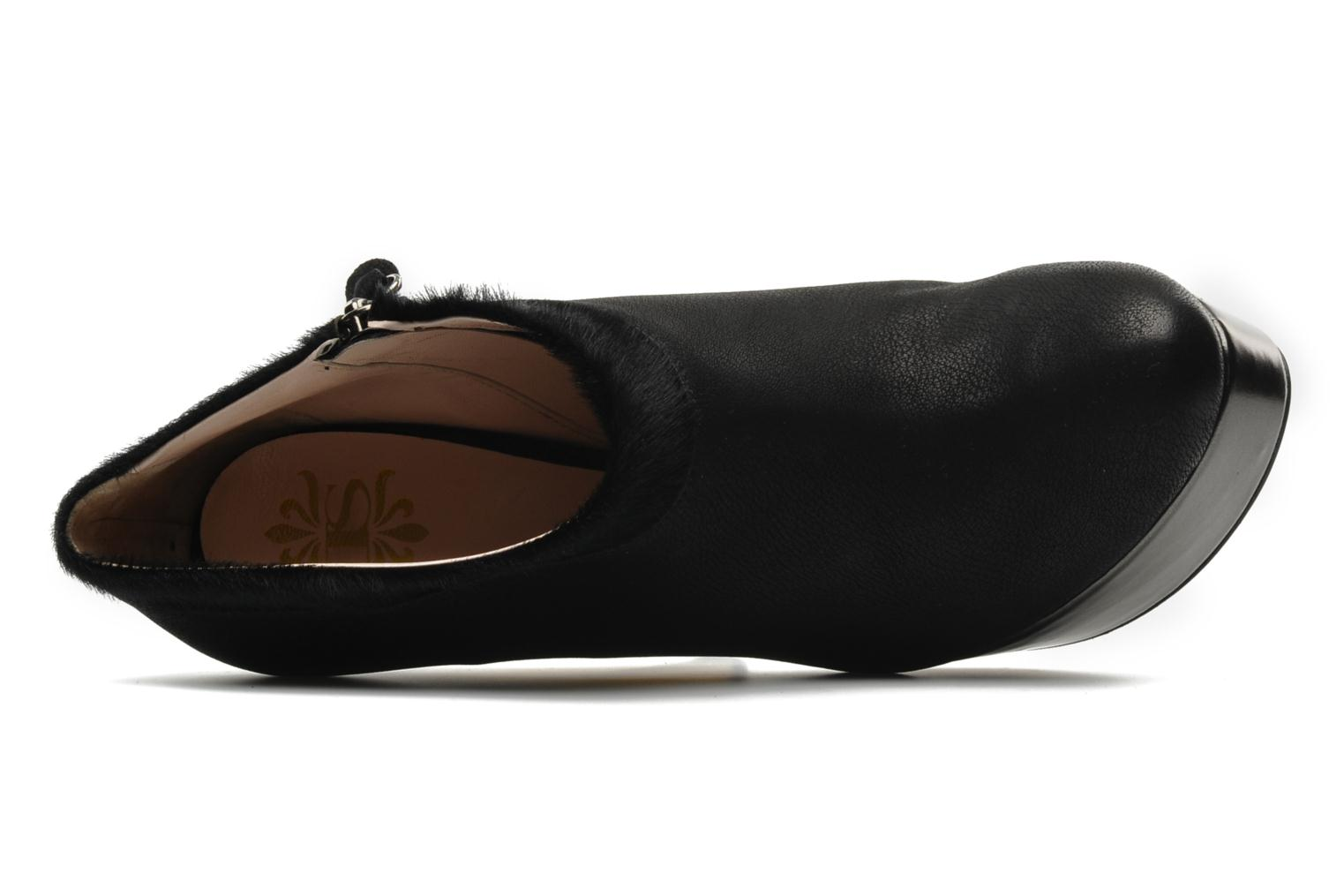 Ankle boots De Siena shoes Amalia Black view from the left