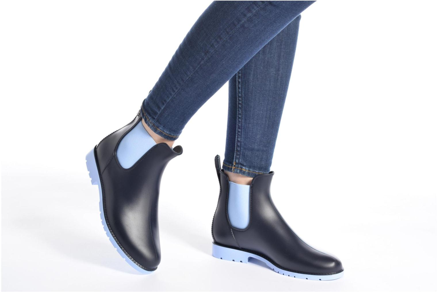 Ankle boots Méduse Jumpy Black view from underneath / model view