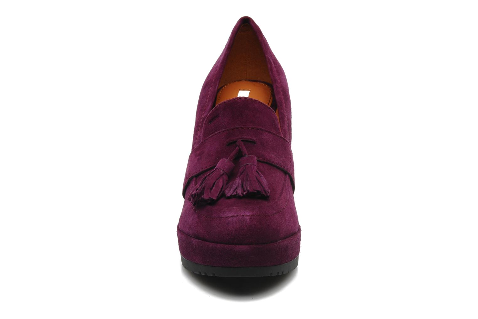 Loafers Geox D ARMONIA D Purple model view