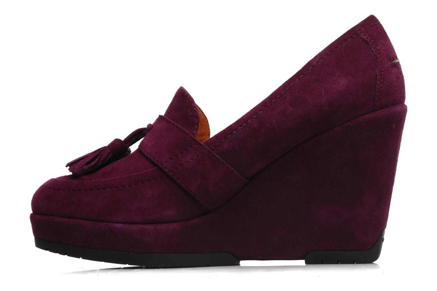 Loafers Geox D ARMONIA D Purple front view