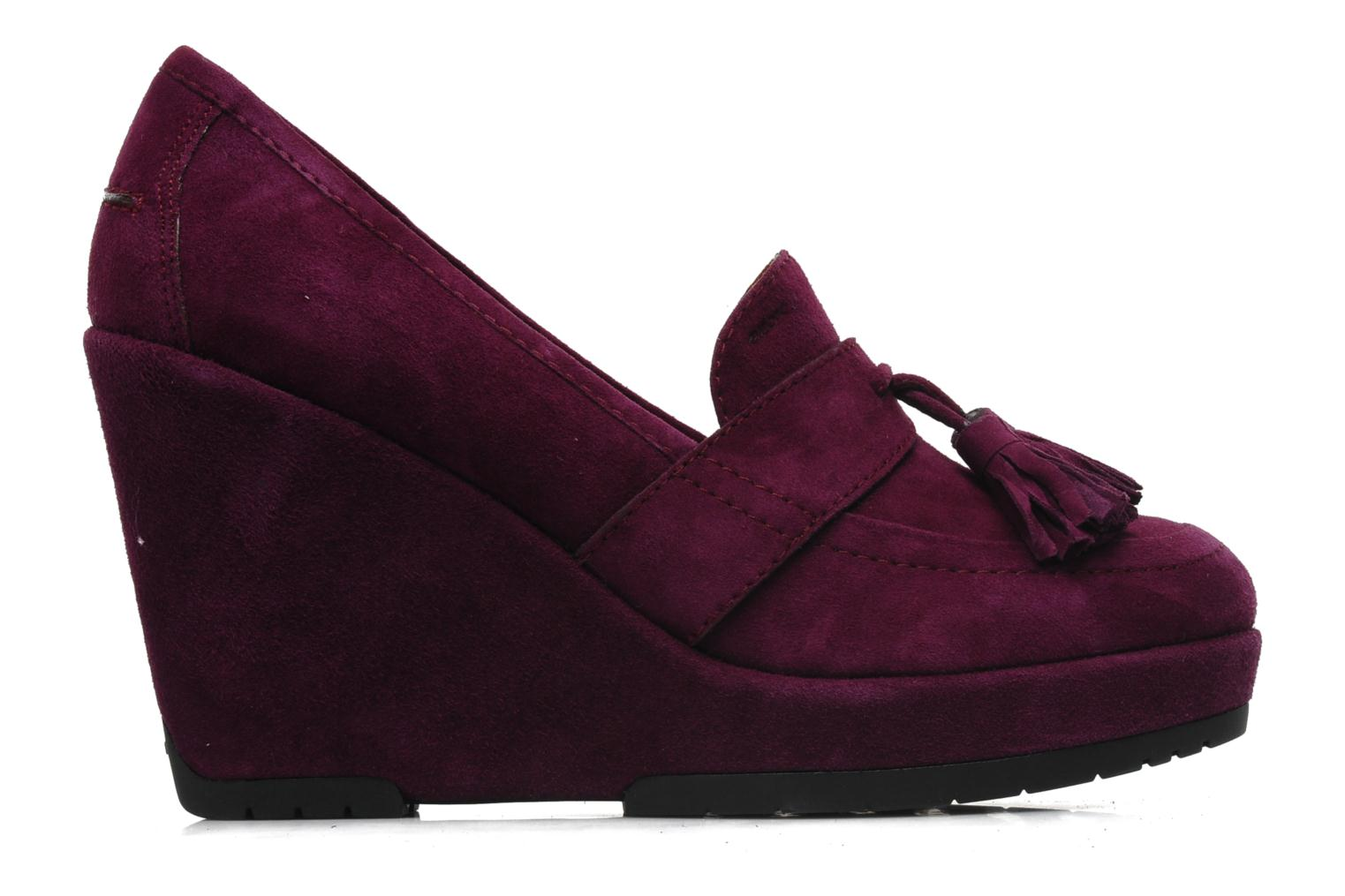 Loafers Geox D ARMONIA D Purple back view