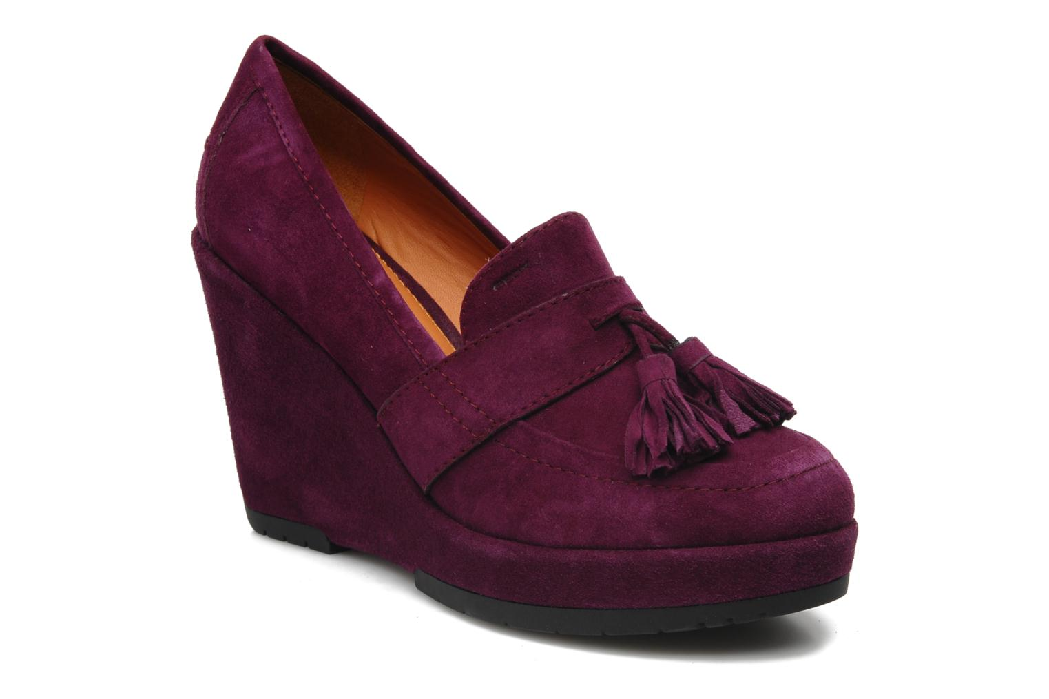 Loafers Geox D ARMONIA D Purple detailed view/ Pair view