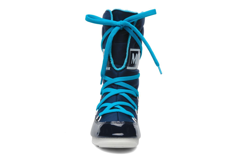 Sportschuhe Moon Boot Sugar blau schuhe getragen