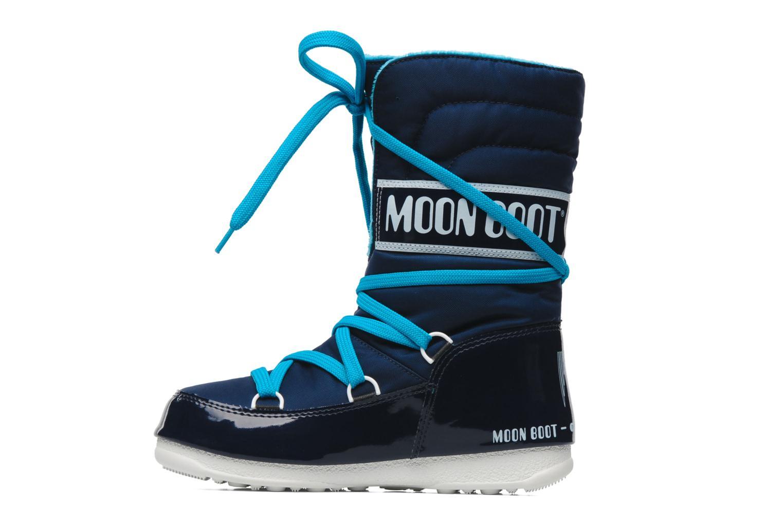 Sportschuhe Moon Boot Sugar blau ansicht von vorne