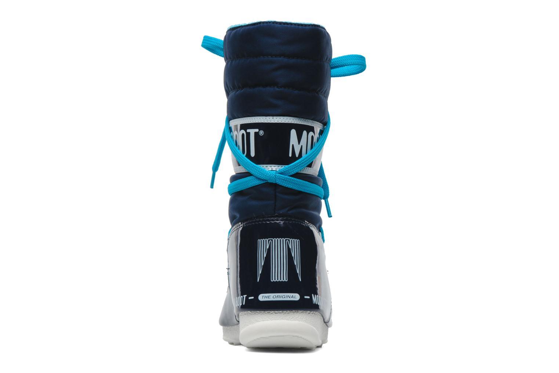 Sportschuhe Moon Boot Sugar blau ansicht von rechts