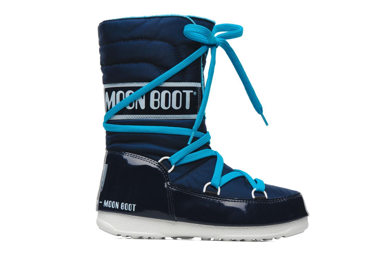 Sportschuhe Moon Boot Sugar blau ansicht von hinten