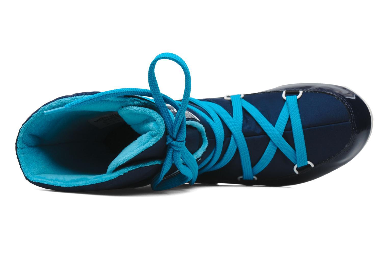 Sportschuhe Moon Boot Sugar blau ansicht von links