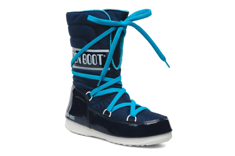 Sportschuhe Moon Boot Sugar blau detaillierte ansicht/modell