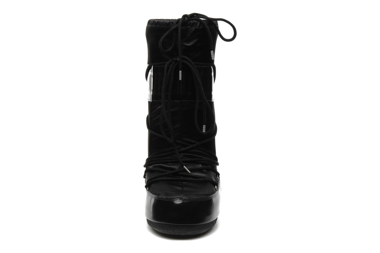 Chaussures de sport Moon Boot Glance Noir vue portées chaussures