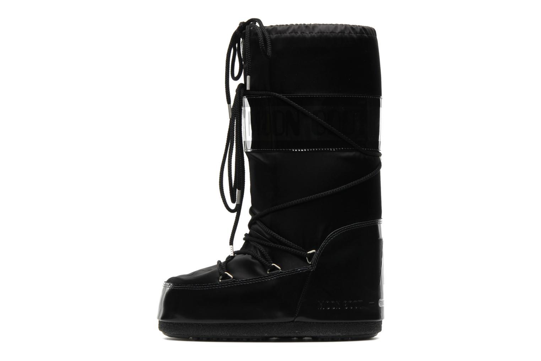 Chaussures de sport Moon Boot Glance Noir vue face