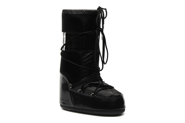 Chaussures de sport Moon Boot Glance Noir vue détail/paire