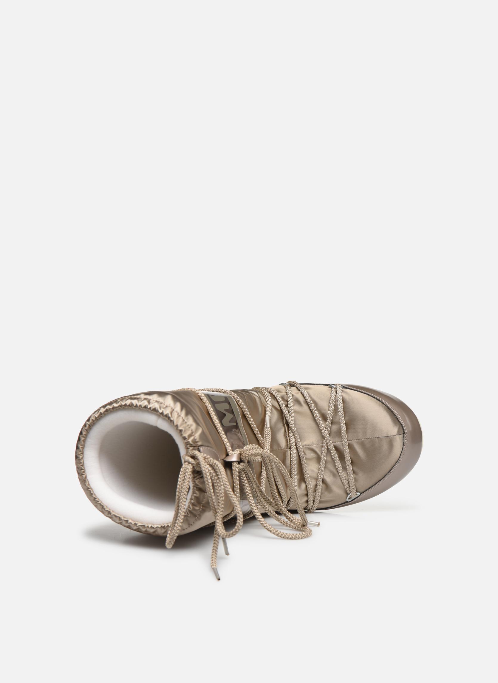 Chaussures de sport Moon Boot Glance Or et bronze vue gauche