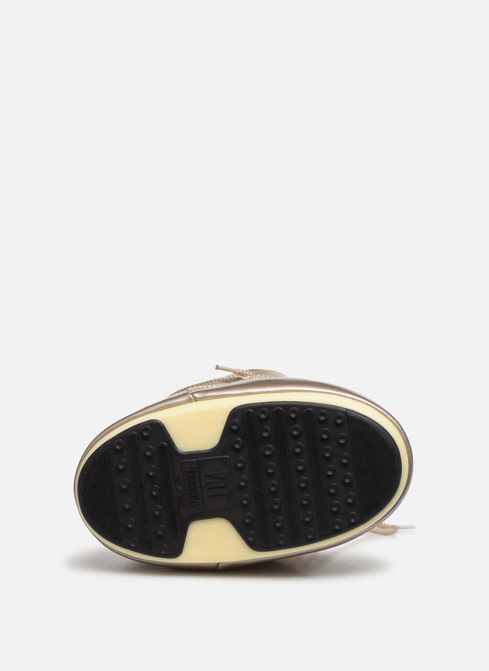 Chaussures de sport Moon Boot Glance Or et bronze vue haut