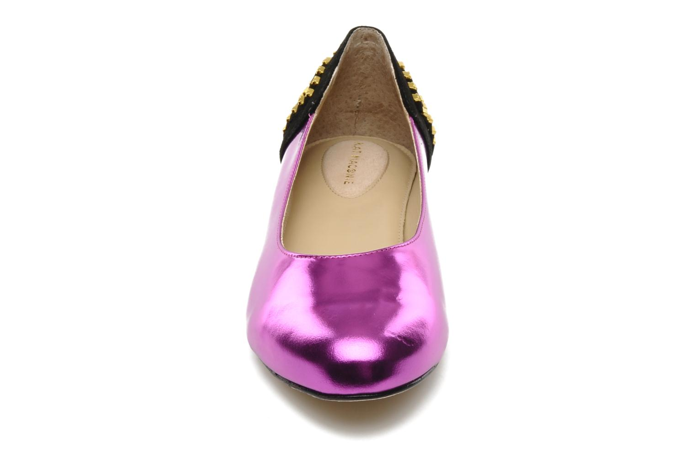 Ballerines Kat Maconie CECILIA Violet vue portées chaussures