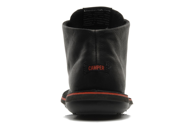 Chaussures à lacets Camper Beetle 36530 Noir vue droite