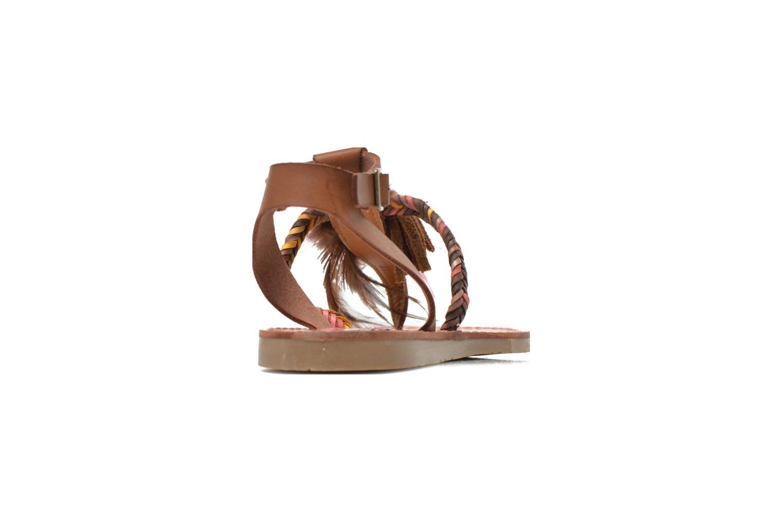 Sandales et nu-pieds Coolway MELROSE Marron vue droite