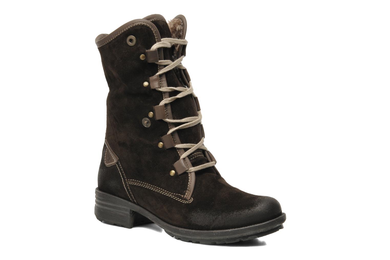 Bottines et boots Josef Seibel Sandra 04 Marron vue 3/4