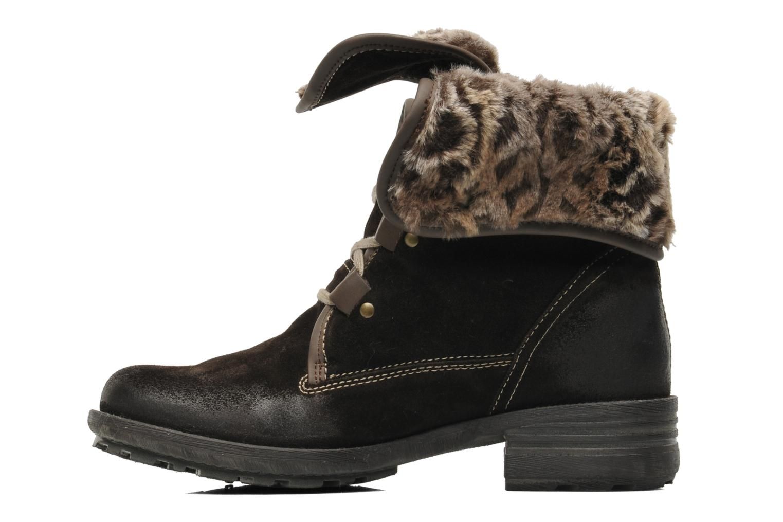 Bottines et boots Josef Seibel Sandra 04 Marron vue face
