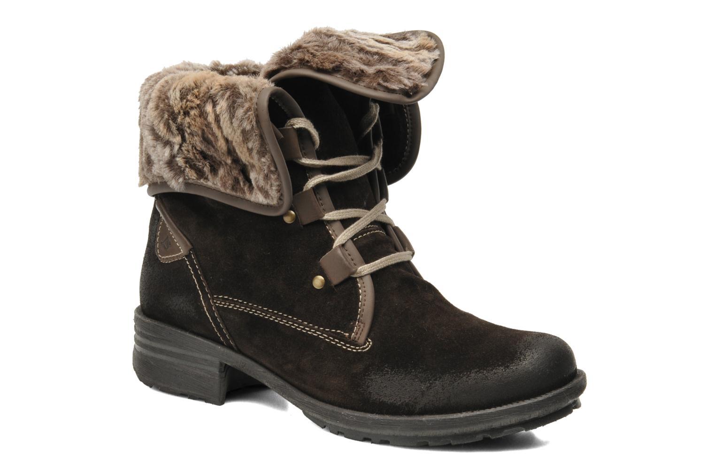 Bottines et boots Josef Seibel Sandra 04 Marron vue détail/paire
