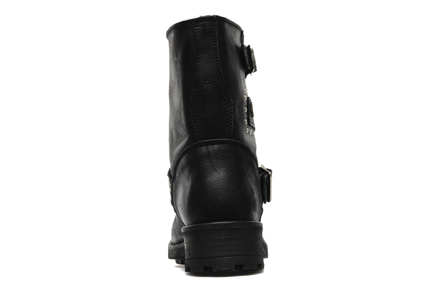 Ankle boots Freeman T. Porter Felicia Black view from the right