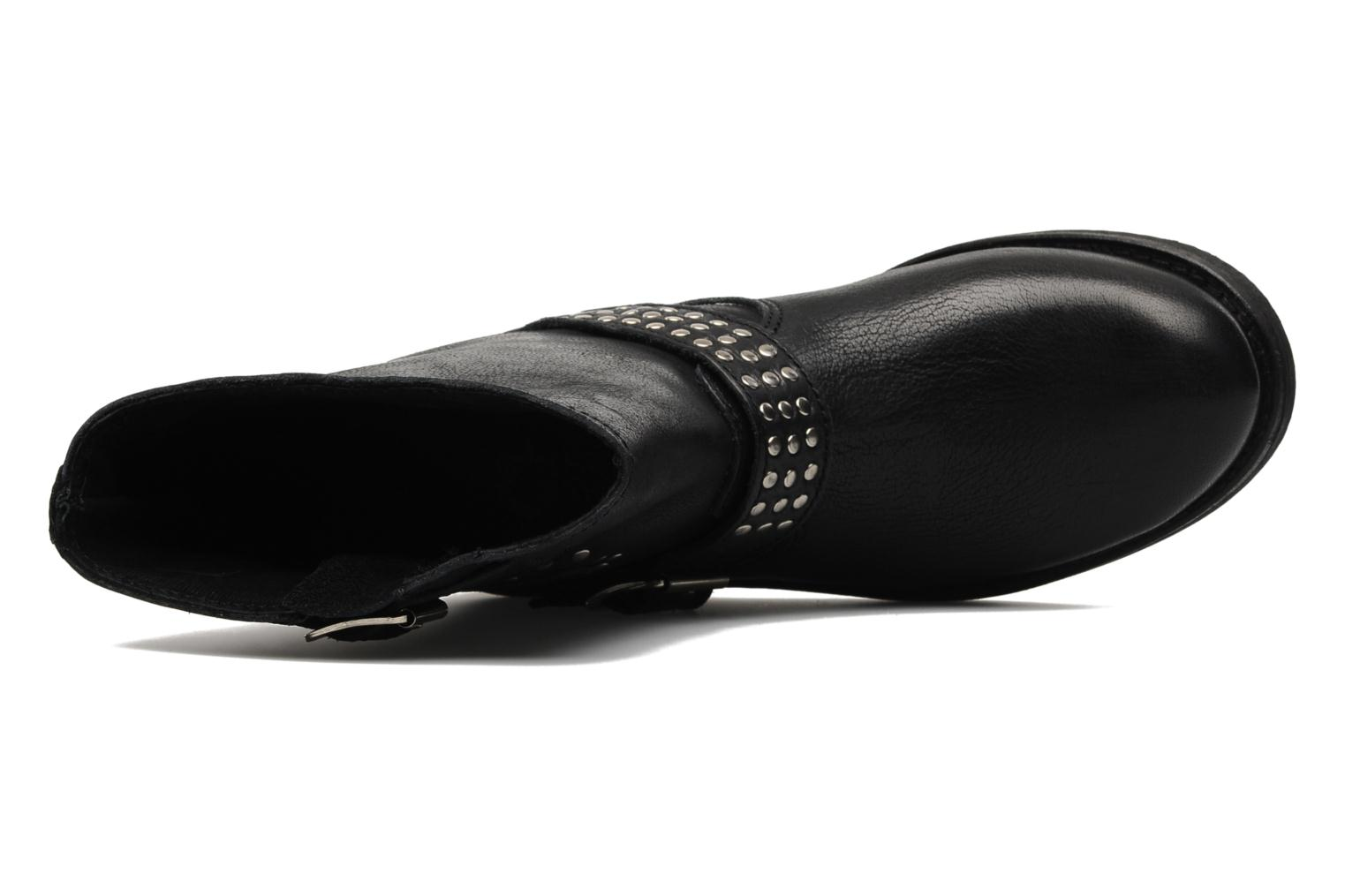 Ankle boots Freeman T. Porter Felicia Black view from the left