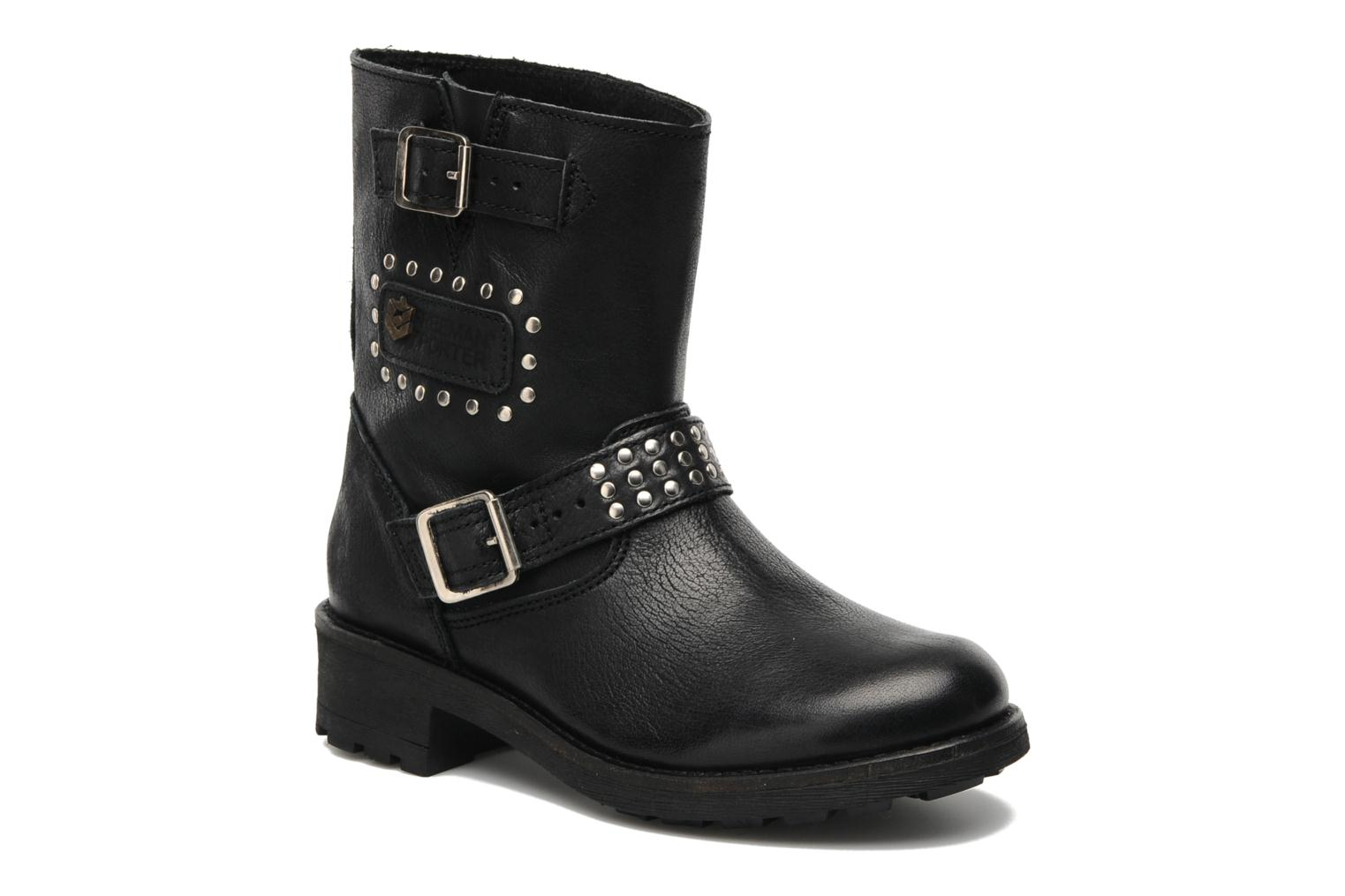Ankle boots Freeman T. Porter Felicia Black detailed view/ Pair view