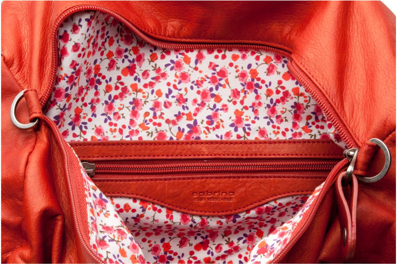 Handtassen Sabrina Jade Oranje achterkant