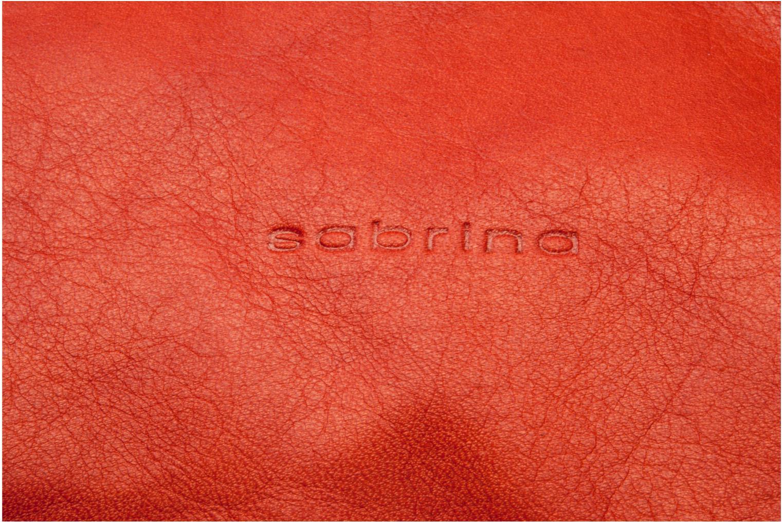 Handtassen Sabrina Jade Oranje links