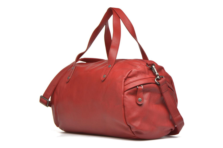 Handtaschen Sabrina Jade rot schuhe getragen