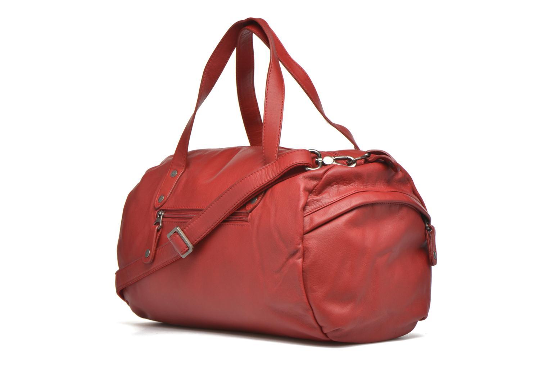 Handtaschen Sabrina Jade rot ansicht von rechts