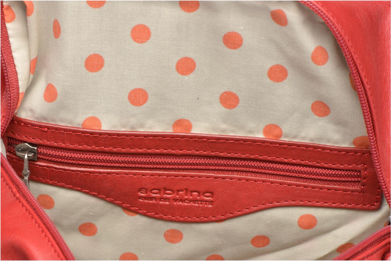 Handtaschen Sabrina Jade rot ansicht von hinten