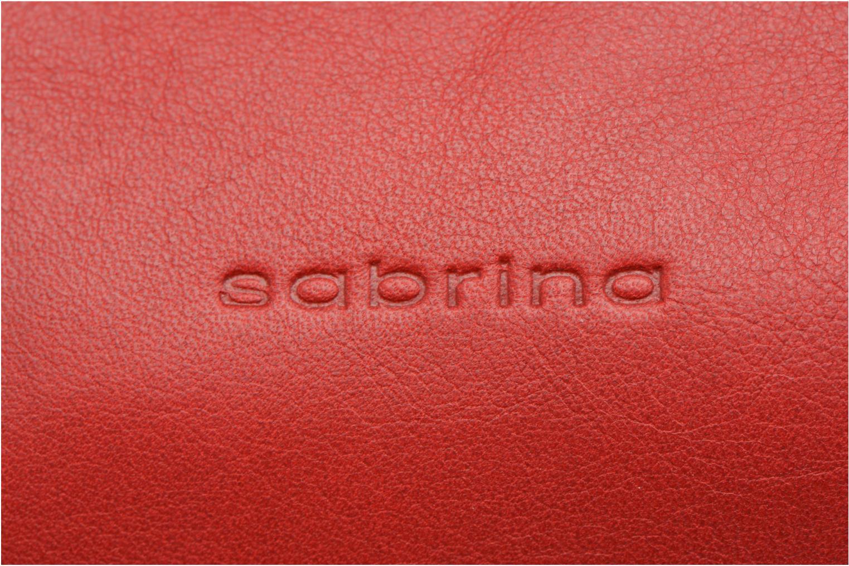 Sacs à main Sabrina Jade Rouge vue gauche