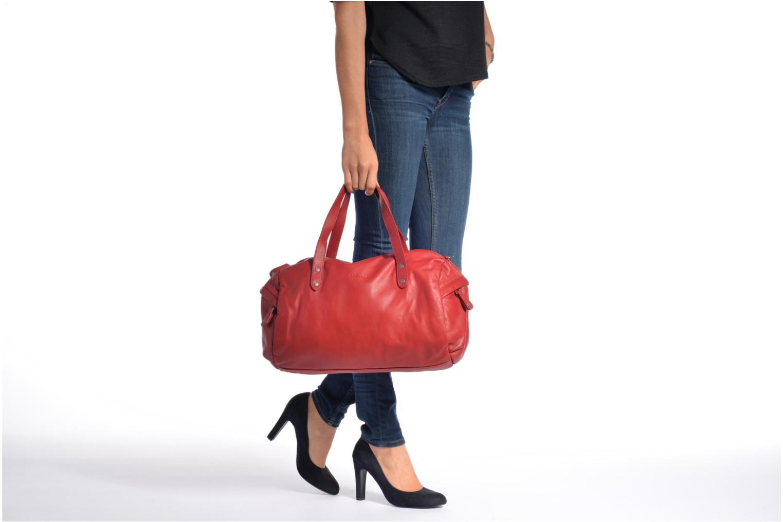 Handtaschen Sabrina Jade rot ansicht von oben
