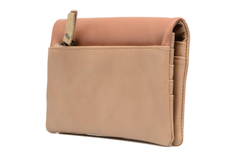 Portemonnaies & Clutches Sabrina Kate beige ansicht von rechts