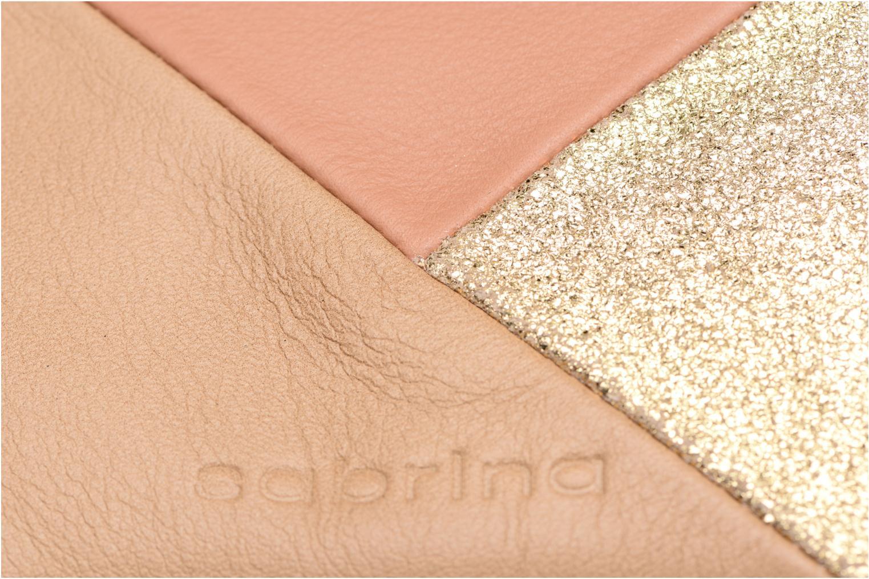 Portemonnaies & Clutches Sabrina Kate beige ansicht von links