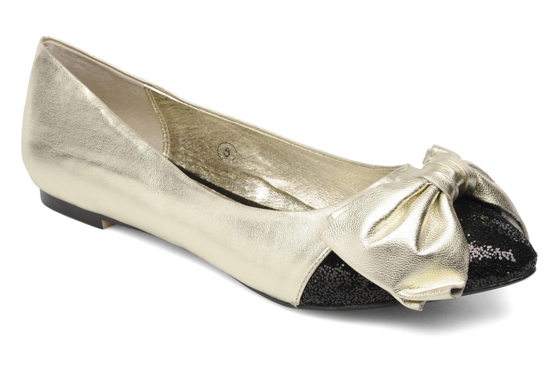 Ballerina's Ravel KATIE Goud en brons detail