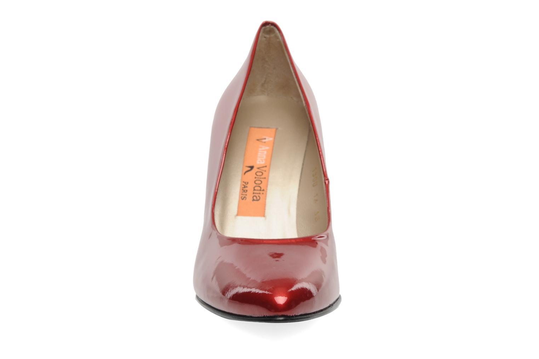 Escarpins Anna Volodia Avita Rouge vue portées chaussures