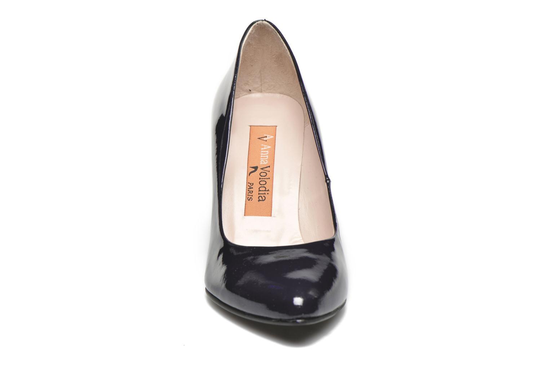 Escarpins Anna Volodia Avita Bleu vue portées chaussures