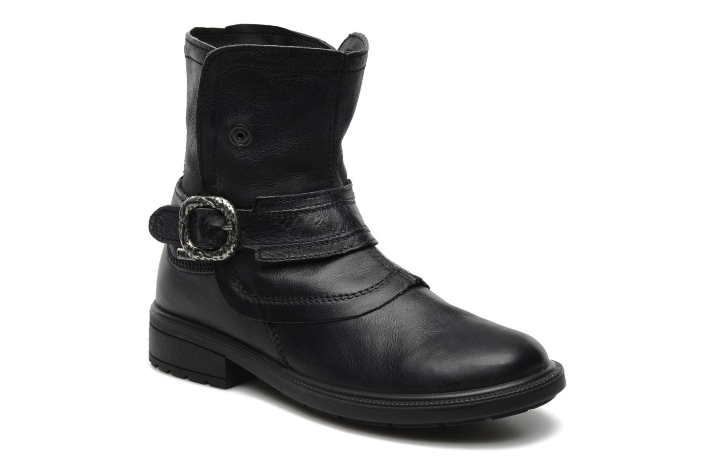 Boots en enkellaarsjes Rose & Martin Idda Zwart detail